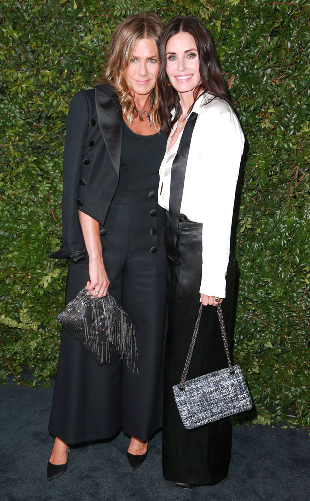 Jennifer Aniston, Courtney Cox